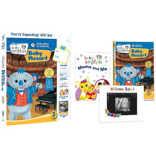 Baby Einstein: You're Expecting! DVD, Book and picture frame Gift Set