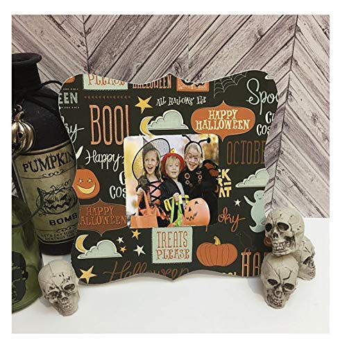 Halloween Frame Hocus pocus Halloween Decorations -Halloween picture frame- halloween decor -halloween 2018- take me trick or treating mommy ()