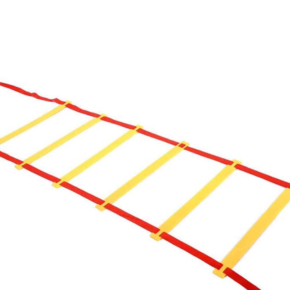 JER 6 m Escalera de coordinación Duradera Fútbol Agility ...