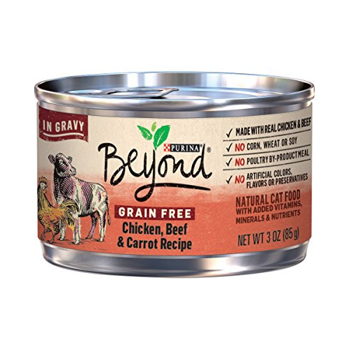 Purina Beyond Grain Free Natural, Chicken, Beef & Carrot Rec