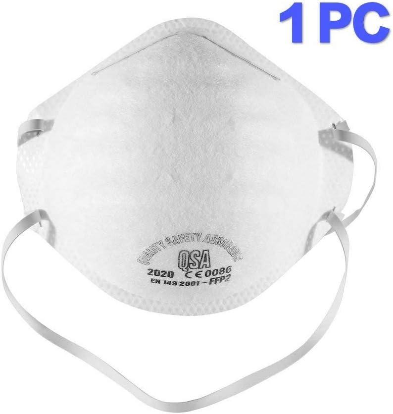 FFP2 N95 Máscara antipolución Máscara, con válvula de capas Filtro 98% Bacterias Anti PM2.5 Neumonía Protección contra la gripe Máscara de poluci&oacut