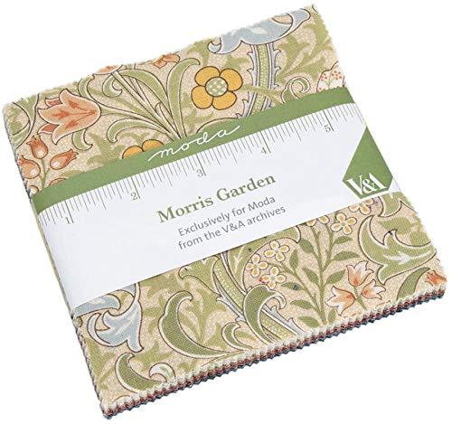 Garden Charm Pack - Morris Garden Charm Pack by V&A; 42-5