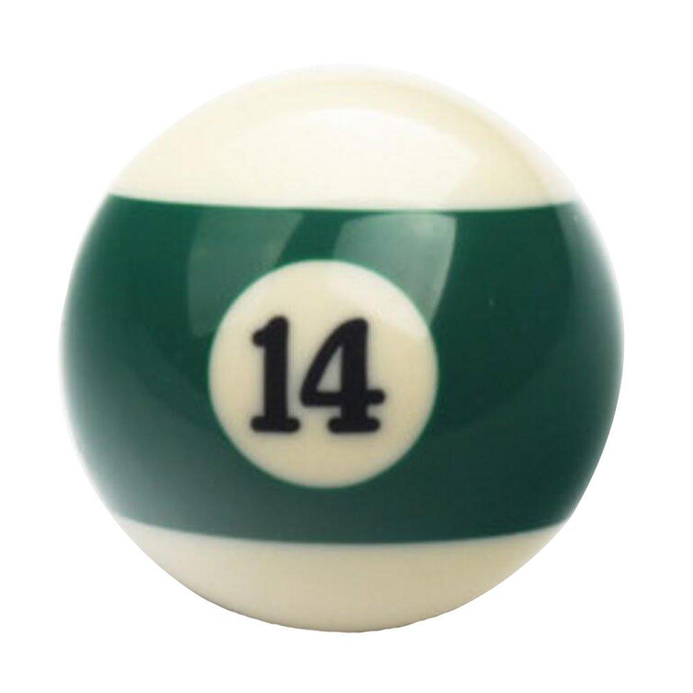 1 PCS Cue Sport Snooker USA Pool Billiard Balls 57.2 mm /2-1/4 - NO.14 George Jimmy