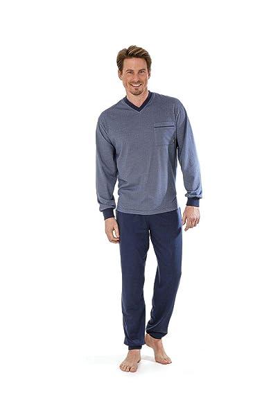 hajo - Pijama - Básico - Manga Larga - para hombre azul azul