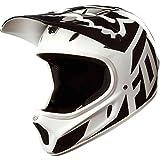 Fox Head Rampage Adult MX Full Face Bike Helmet (Race White/Black, L)