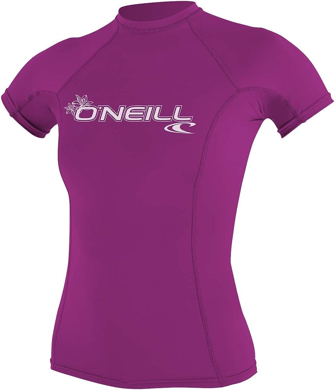 ONeill Wetsuits Enfants Youth Basic Skins S//S Crew T-Shirt Rashguard