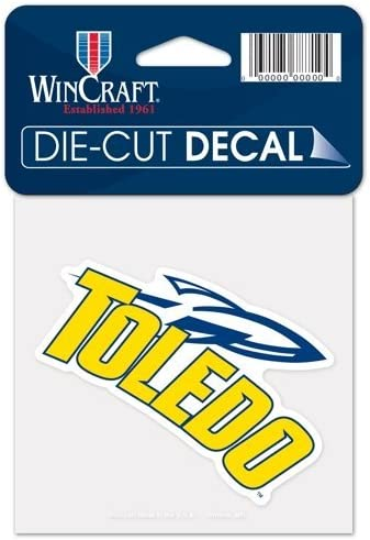 Toledo Rockets NCAA Collegiate 4 Inch Round Decal Sticker