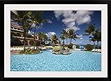 "GreatBIGCanvas ""Puerto Rico, North Coast, Dorado, Embassy Suites Resort Hotel"" by Walter Bibikow Photographic Print with Black Frame, 36"" x 24"" offers"
