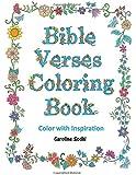 Bible Verses Coloring Book: Color Scriptures With Inspiration Volume 1 (Color With Inspiration)