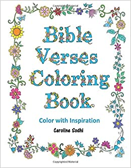 Amazon Com Bible Verses Coloring Book Color Scriptures With