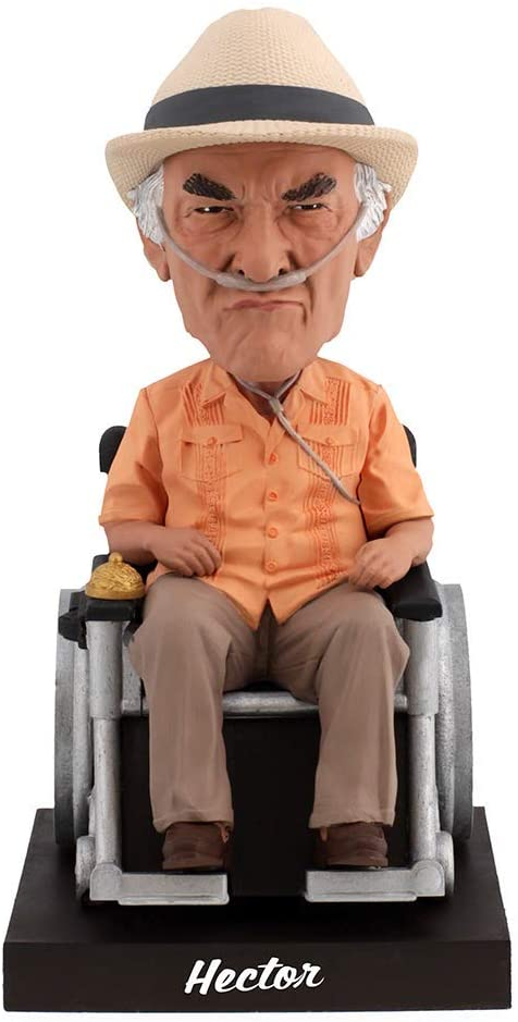 Royal Bobbles Better Call Saul Hector Salamanca Bobblehead with Working Bell