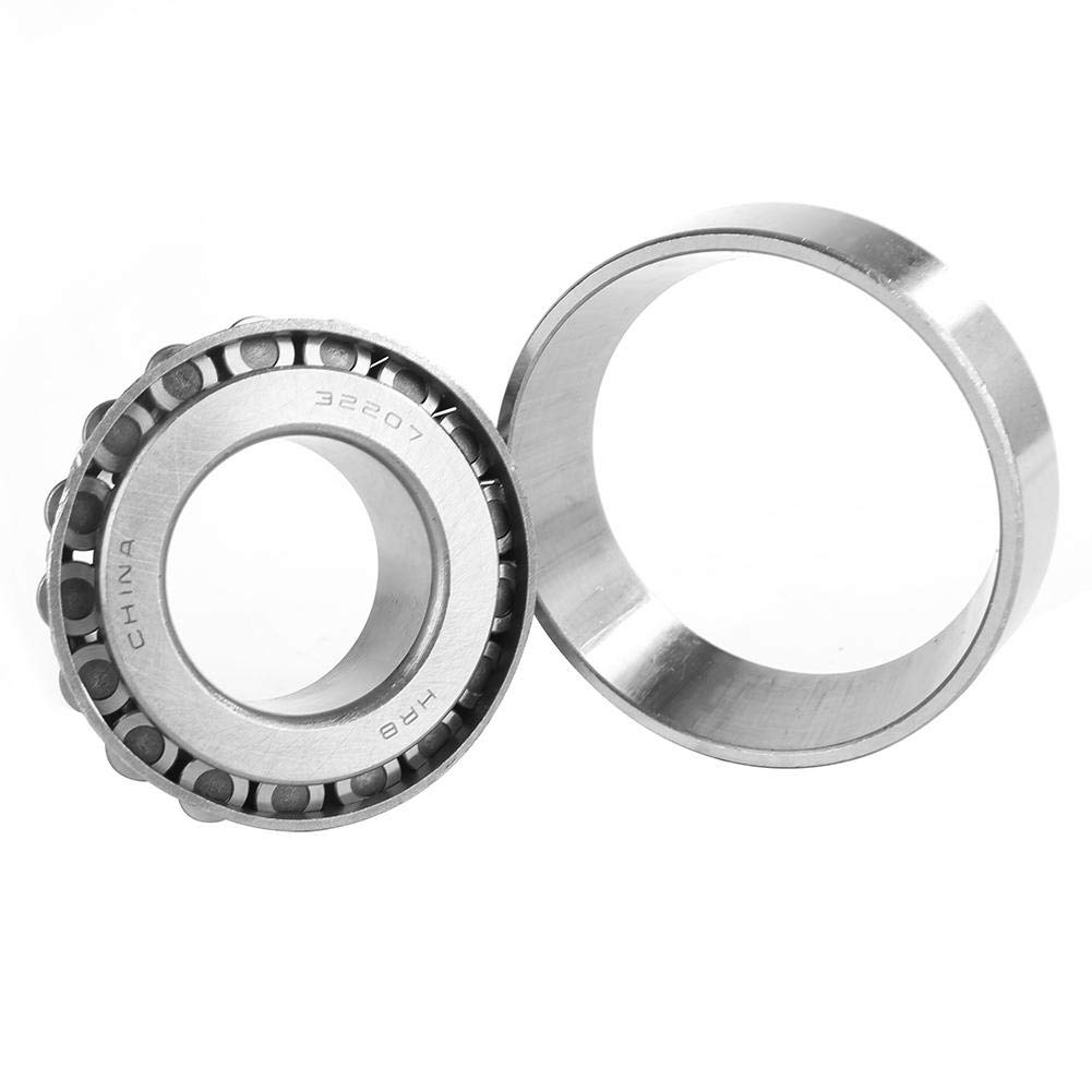 rodamiento c/ónico de alta velocidad de una hilera de rodamiento de rodillos de acero 32207 Conjunto ampliamente utilizado en autom/óvil Rodamiento de rodillos c/ónicos de 35 mm 24,25 mm 72 mm