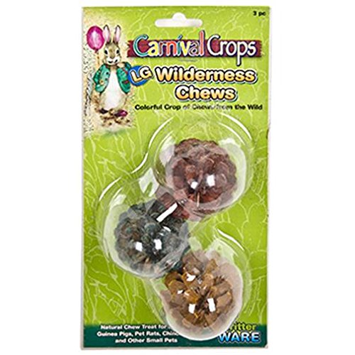 Ware Manufacturing Ware 3 Piece Large Wilderness Chews (1 Pack), One Size by Ware Manufacturing