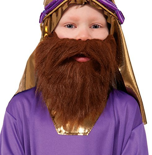 [Forum Novelties Biblical Times Wiseman Child's Costume Beard Model: 73914] (Costumes With Beards)
