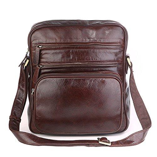 VESIA , Herren Schultertasche Braun Vintage Brown