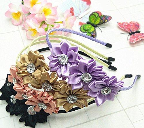 Headband Children's Simulation Un Headdress Colorful Vivid Party ncie Diamond Flower qwAT8