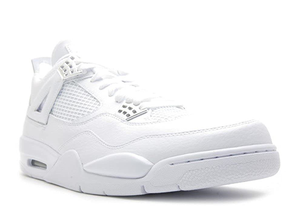 best authentic 52e8a c1bcb Amazon.com   Jordan Nike Air 4 Retro 25th Anniversary Mens Basketball Shoes  408202-101   Basketball