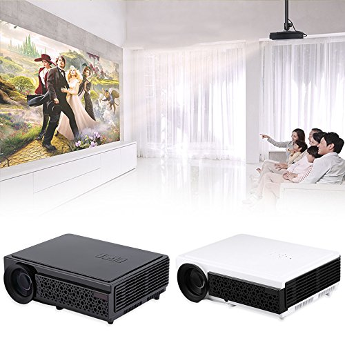 dh-tl98 Proyector Full HD 1080p Cine en casa enfoque Manual Home ...
