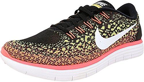 Zapatillas De Running Nike Nike Free Rn Negro / Blanco / Volt / Hot Lava