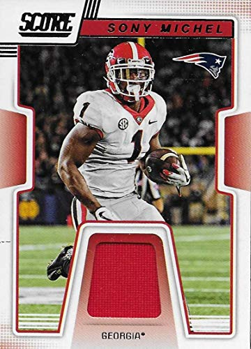 f7c29232f06f31 2019 Score Collegiate Jerseys #8 Sony Michel MEM NM-MT+ Georgia Bulldogs  Officially Licensed. found at Amazon