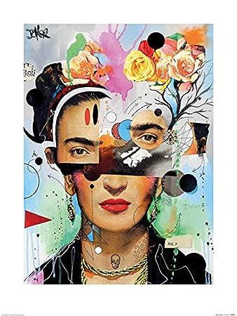 Amazon.com: iPosters Loui Jover Kahlo Anaylitica Matt Coated ...