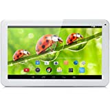 iRULU eXpro X1s 10.1 Inch Quad Core Google Android 5.1 Lollipop Tablet PC, 1GB RAM, 8GB Nand Flash, 1024*600 Resolution, WiFi, Bluetooth(White)