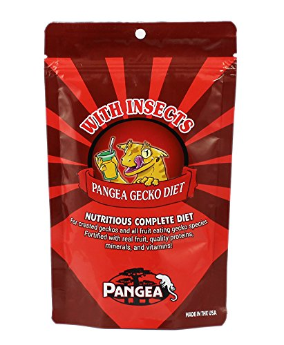 Pangea Fruit Mix with Insects Crested Gecko Complete Diet 2 oz
