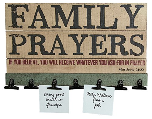 Family Prayer Board - 16-in
