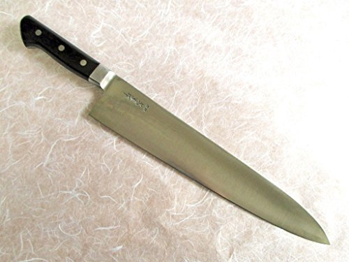 Hisashige/Hi Carbon Japan Steel, Japanese Professional Knife,Gyuto (270mm/10.6'') by Hisashige