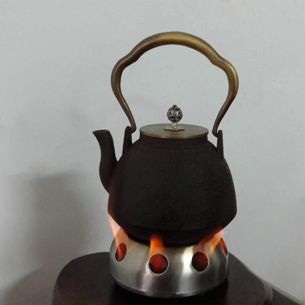 Lixada Mini Estufa Port/átil de Alcohol Solidificado Camping Mochilero Picnic BBQ Cocina Estufa de Alcohol