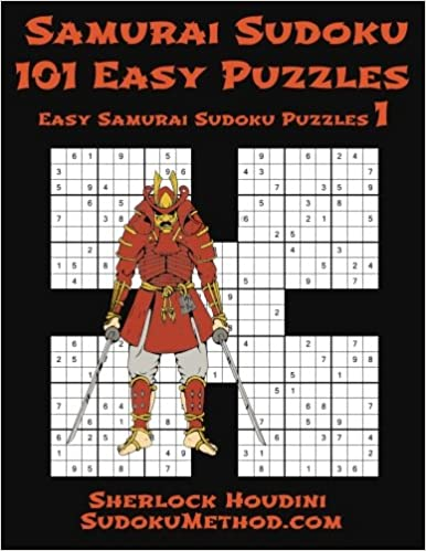 Samurai Sudoku - 101 Easy Puzzles book