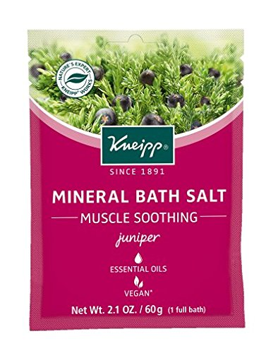 Kneipp Thermal Spring Bath Salt 1 Pouch - Juniper - Muscle Soother