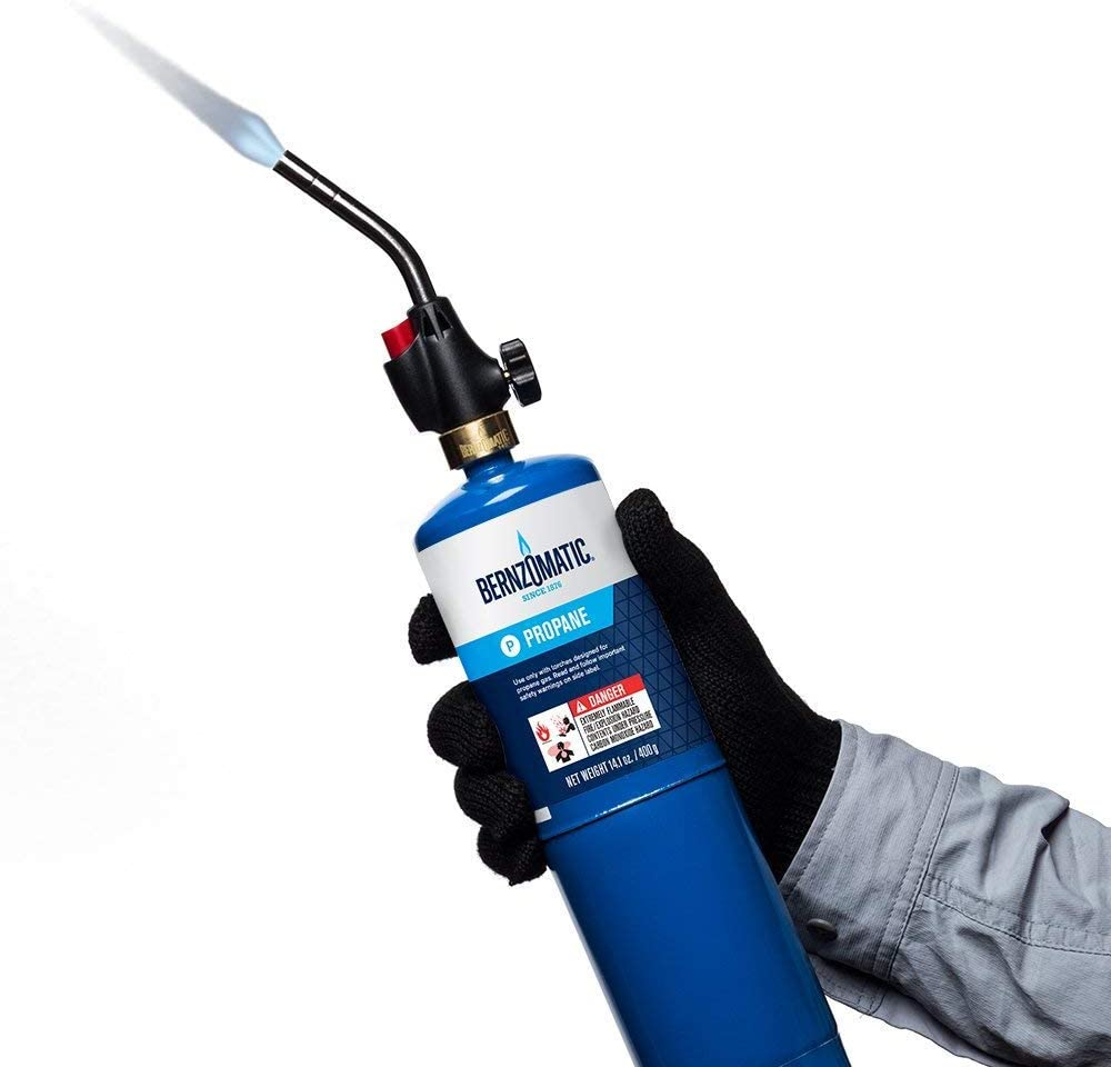2-Pack Basic pack 361552 Worthington 336737 WT2301 Trigger Start Propane Torch
