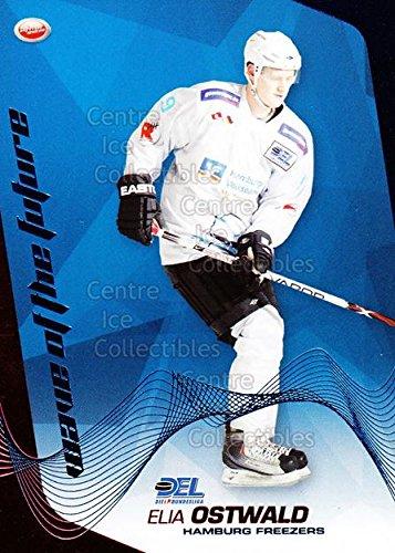 ((CI) Elia Ostwald Hockey Card 2009-10 German DEL Premium Wave of Future 3 Elia)