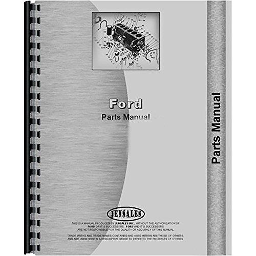 Parts Manual For Ford 650 750 755 755A 755B (Diesel) Tractor Loader Backhoe