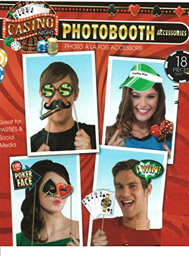 Photo Booth Accesory - Casino Night Theme (Grown Up Party Themes)