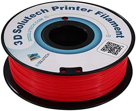 3D Solutech Impresora 3D Real Red PLA Filamento 1.75MM, Precisión ...