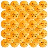 3-Star Premium Ping Pong Balls Advanced Training Table Tennis Ball, 50 Pack, Orange