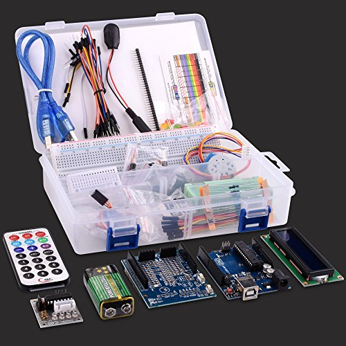 hot sale 2017 Kuman for Arduino UNO R3 Project Super Starter Kit