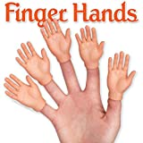 Toys : Set of Five Finger Hands Finger Puppets
