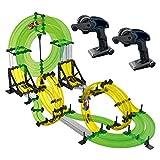 REMOKING RC Track Car, Rail Race RC Track Car Toys