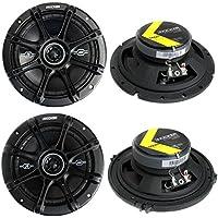 2) Kicker 41DSC654 6.5 240W + 2) 41DSC674 6.75 240W 2-Way Car Coaxial Speakers