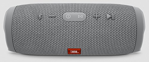 JBL Charge 3 Waterproof Portable Bluetooth Speaker (Gray) by JBL (Image #1)