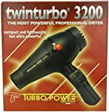 Turbo Power 3200 Twin Turbo Hair Dryer, 36 Ounce