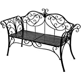 Amazon Com Cast Iron Benches Patio Seating Patio