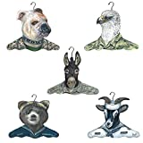 The Stupell Home Decor Collection Military Clothing Hanger (5 Pack)
