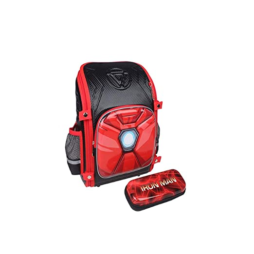 QUAN YOU Mochila Infantil - Marvel Primary School 7-10 años ...