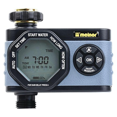 Melnor HydroLogic Advanced Electronic Water Timer 1 Zone, Gray