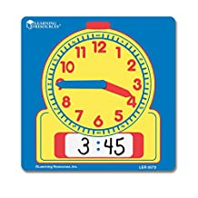 Learning Resources Write On/Wipe Off Student Clocks Set of 10