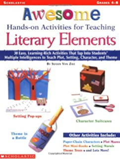 Amazoncom Literary Elements Toolkit 9780545416320 Susan Van